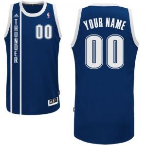Oklahoma City Thunder Personnalisé Adidas Alternate Bleu marin Maillot d'équipe de NBA préférentiel - Swingman pour Enfants