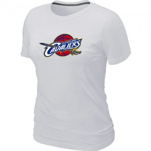 Tee-Shirt NBA Cleveland Cavaliers Big & Tall Blanc - Femme