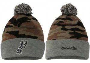 Bonnet Knit San Antonio Spurs NBA YU2NPL44