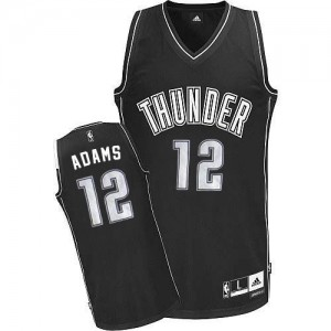 Maillot NBA Authentic Steven Adams #12 Oklahoma City Thunder Blanc - Homme