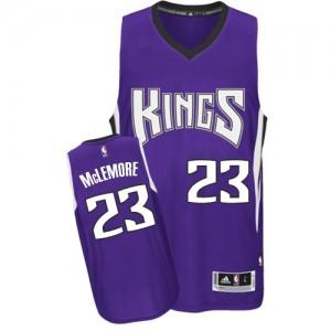 Maillot NBA Authentic Ben McLemore #23 Sacramento Kings Road Violet - Homme