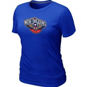 T-shirt principal de logo New Orleans Pelicans NBA Big & Tall Bleu - Femme