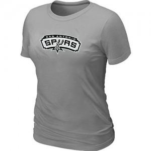 Tee-Shirt NBA San Antonio Spurs Big & Tall Gris - Femme