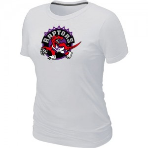 Tee-Shirt Blanc Big & Tall Toronto Raptors - Femme