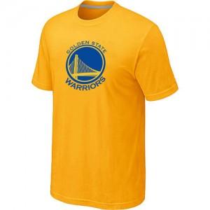 Tee-Shirt NBA Golden State Warriors Big & Tall Jaune - Homme