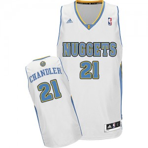 Maillot Swingman Denver Nuggets NBA Home Blanc - #21 Wilson Chandler - Homme