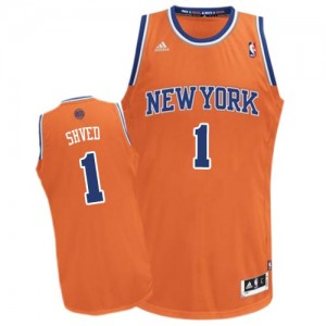 Maillot Swingman New York Knicks NBA Alternate Orange - #1 Alexey Shved - Homme