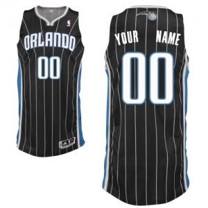 Orlando Magic Personnalisé Adidas Alternate Noir Maillot d'équipe de NBA Le meilleur cadeau - Authentic pour Enfants
