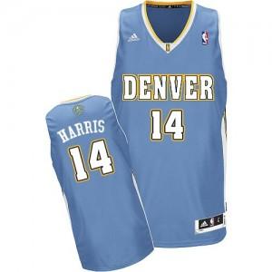 Denver Nuggets #14 Adidas Road Bleu clair Swingman Maillot d'équipe de NBA Le meilleur cadeau - Gary Harris pour Homme