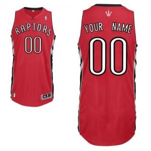 Maillot NBA Toronto Raptors Personnalisé Authentic Rouge Adidas Road - Homme