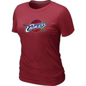 Tee-Shirt Rouge Big & Tall Cleveland Cavaliers - Femme