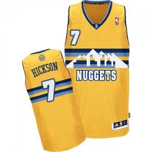 Denver Nuggets #7 Adidas Alternate Or Authentic Maillot d'équipe de NBA à vendre - JJ Hickson pour Homme