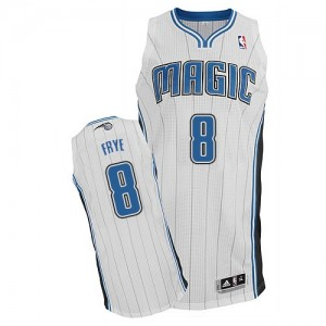 Maillot Authentic Orlando Magic NBA Home Blanc - #8 Channing Frye - Homme