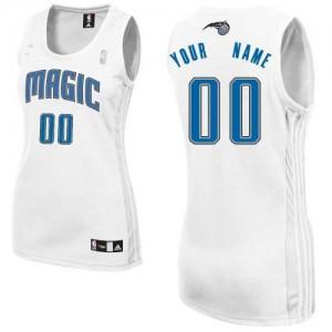 Maillot Orlando Magic NBA Home Blanc - Personnalisé Authentic - Femme
