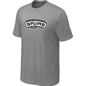 T-shirt principal de logo San Antonio Spurs NBA Big & Tall Gris - Homme