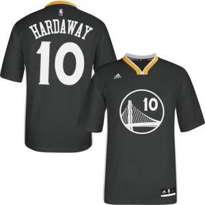 Golden State Warriors Tim Hardaway #10 Alternate Authentic Maillot d'équipe de NBA - Noir pour Homme