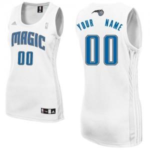Orlando Magic Swingman Personnalisé Home Maillot d'équipe de NBA - Blanc pour Femme