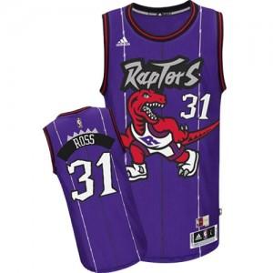 Maillot Authentic Toronto Raptors NBA Hardwood Classics Violet - #31 Terrence Ross - Homme