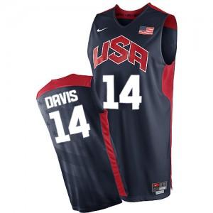 Maillots de basket Authentic Team USA NBA 2012 Olympics Bleu marin - #14 Anthony Davis - Homme