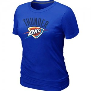 Tee-Shirt NBA Bleu Oklahoma City Thunder Big & Tall Femme