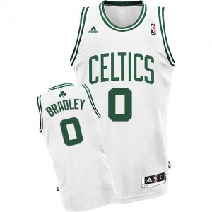 Maillot NBA Boston Celtics #0 Avery Bradley Blanc Adidas Swingman Home - Homme