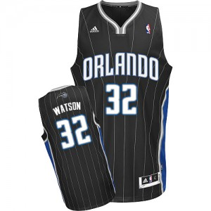 Maillot NBA Noir C.J. Watson #32 Orlando Magic Alternate Swingman Homme Adidas
