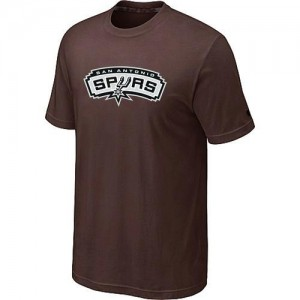 Tee-Shirt NBA marron San Antonio Spurs Big & Tall Homme