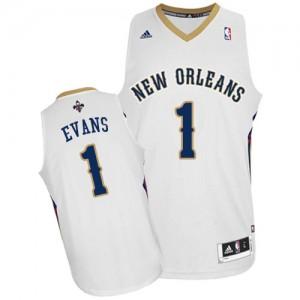 Maillot NBA Swingman Tyreke Evans #1 New Orleans Pelicans Home Blanc - Homme