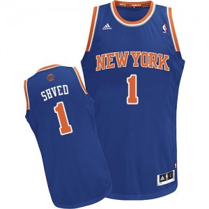 Maillot Swingman New York Knicks NBA Road Bleu royal - #1 Alexey Shved - Homme