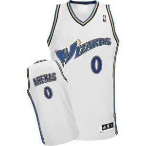 Maillot Swingman Washington Wizards NBA Blanc - #0 Gilbert Arenas - Homme