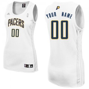 Maillot NBA Swingman Personnalisé Indiana Pacers Home Blanc - Femme