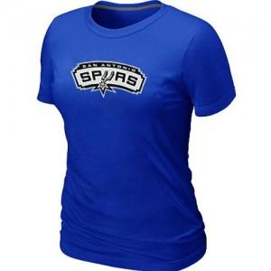 San Antonio Spurs Big & Tall Tee-Shirt d'équipe de NBA - Bleu pour Femme