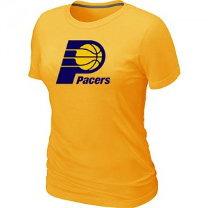 Tee-Shirt NBA Indiana Pacers Big & Tall Jaune - Femme