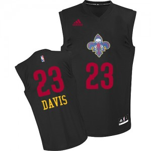Maillot NBA Swingman Anthony Davis #23 New Orleans Pelicans New Fashion Noir - Homme