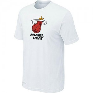 Tee-Shirt Blanc Big & Tall Miami Heat - Homme