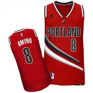 Portland Trail Blazers #8 Adidas Alternate Rouge Swingman Maillot d'équipe de NBA la vente - Al-Farouq Aminu pour Homme
