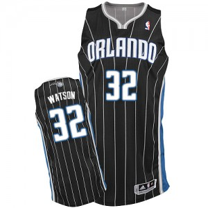 Maillot Authentic Orlando Magic NBA Alternate Noir - #32 C.J. Watson - Homme