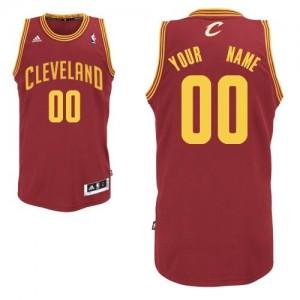 Maillot Cleveland Cavaliers NBA Road Vin Rouge - Personnalisé Swingman - Homme