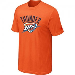 Tee-Shirt Orange Big & Tall Oklahoma City Thunder - Homme