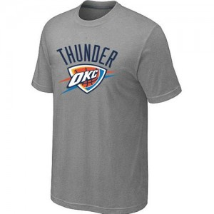 Oklahoma City Thunder Big & Tall Gris Tee-Shirt d'équipe de NBA pour pas cher - pour Homme