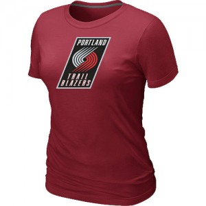 Tee-Shirt NBA Rouge Portland Trail Blazers Big & Tall Femme
