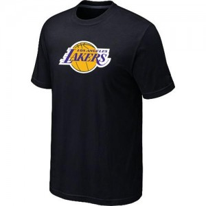 Tee-Shirt Noir Big & Tall Los Angeles Lakers - Homme