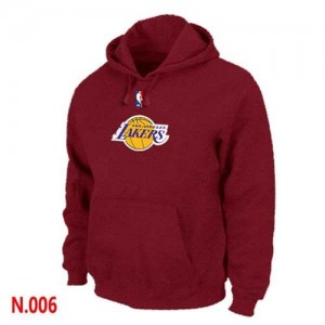 Sweat Rouge Los Angeles Lakers - Homme