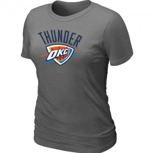 Tee-Shirt NBA Oklahoma City Thunder Big & Tall Gris foncé - Femme