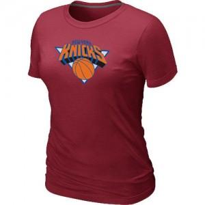 New York Knicks Big & Tall Rouge Tee-Shirt d'équipe de NBA Prix d'usine - pour Femme