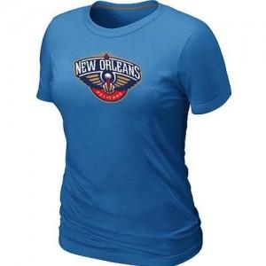 New Orleans Pelicans Big & Tall Bleu clair Tee-Shirt d'équipe de NBA boutique en ligne - pour Femme