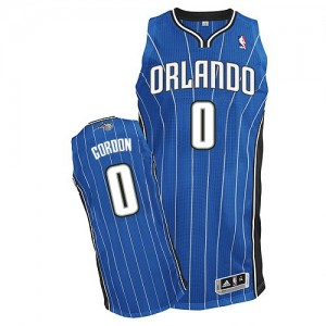 Maillot NBA Authentic Aaron Gordon #0 Orlando Magic Road Bleu royal - Homme