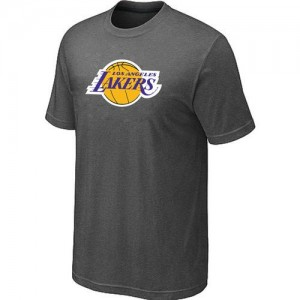 Tee-Shirt NBA Los Angeles Lakers Big & Tall Gris foncé - Homme