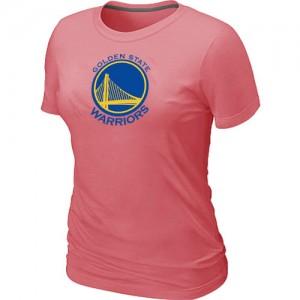 Golden State Warriors Big & Tall Tee-Shirt d'équipe de NBA - Rose pour Femme