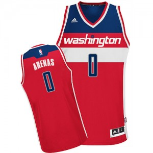 Maillot NBA Swingman Gilbert Arenas #0 Washington Wizards Road Rouge - Homme